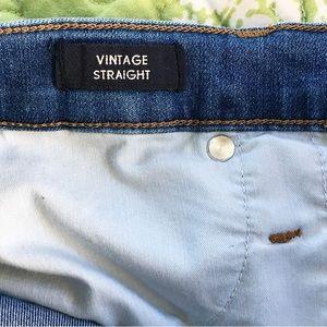 J. Crew Jeans - J Crew Vintage Straight Eco Distressed Jeans